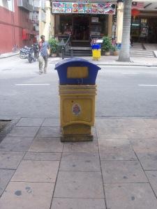 si biru-kuning